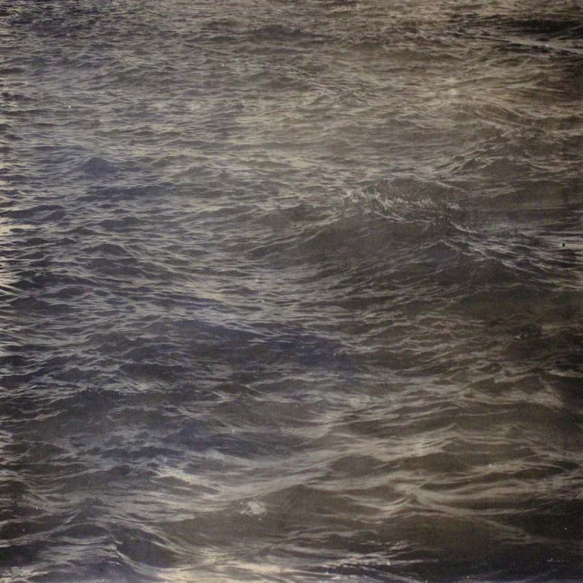 Black Sea - Graphite, dust and pigment 100cm 100cm