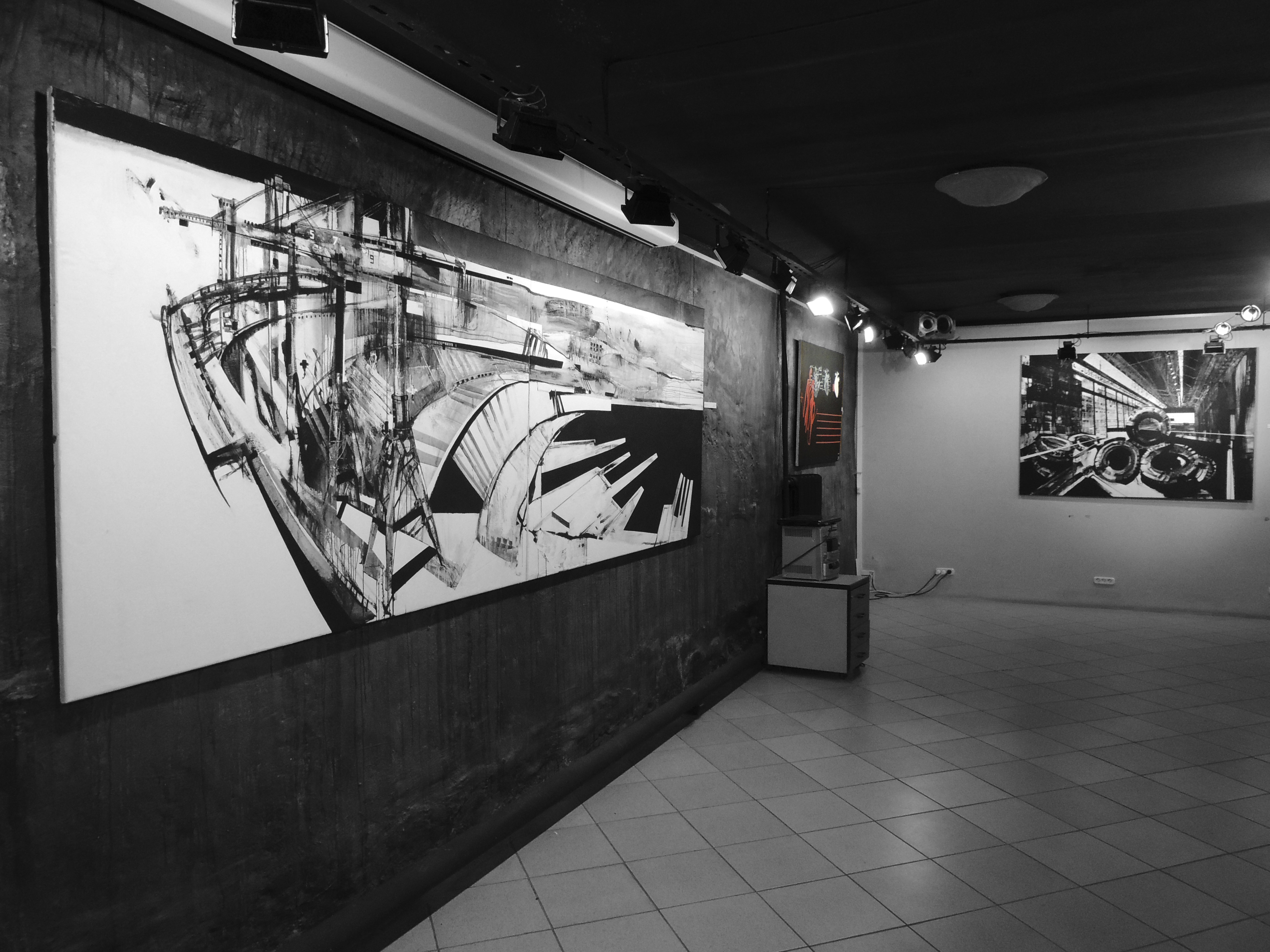 """""""The Past not continued"""" - solo exhibition in Ufa, Russia"""