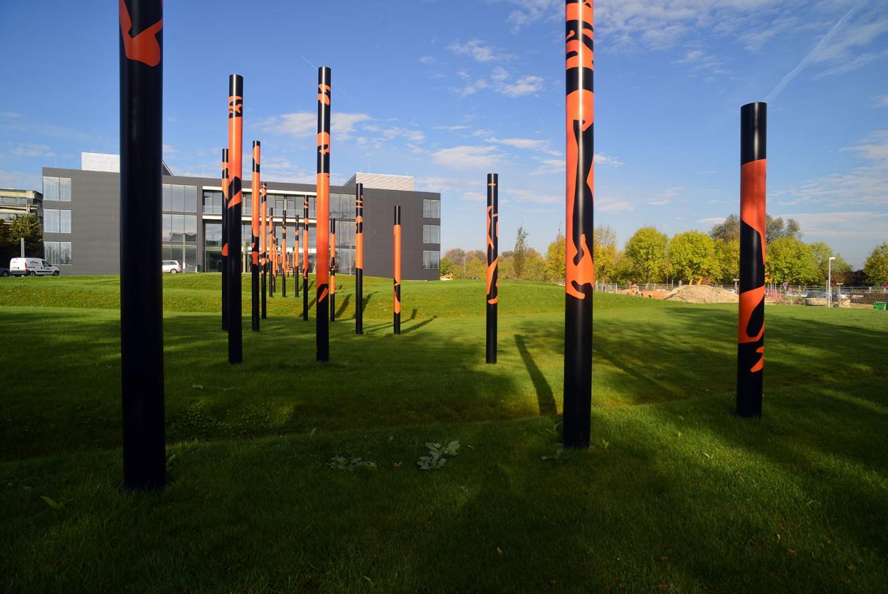 RŒHREN:DER HIRSCH, public art installation