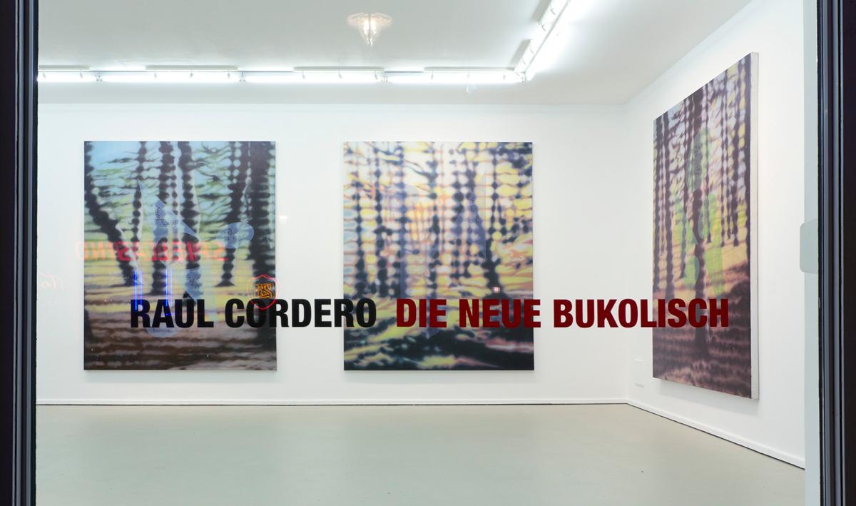 """""""DIE NEUE BUKOLISCH"""", solo show at Nova Invaliden Galerie, Berlin. 2016"""
