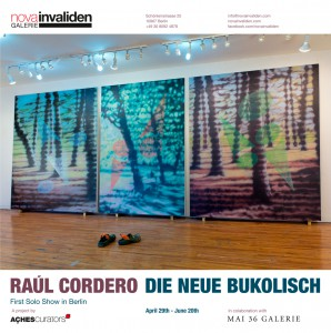 "RAÚL CORDERO ""Die Neue Bukolisch"". Solo show @ Nova Invaliden Galerie, Berlin. (April 29th – June 20th, 2016) Image"