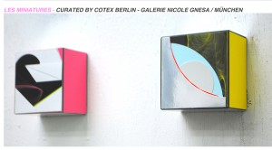 LES MINIATURES – Curated by Codex Berlin – Galerie Nicole Gnesa / München Image
