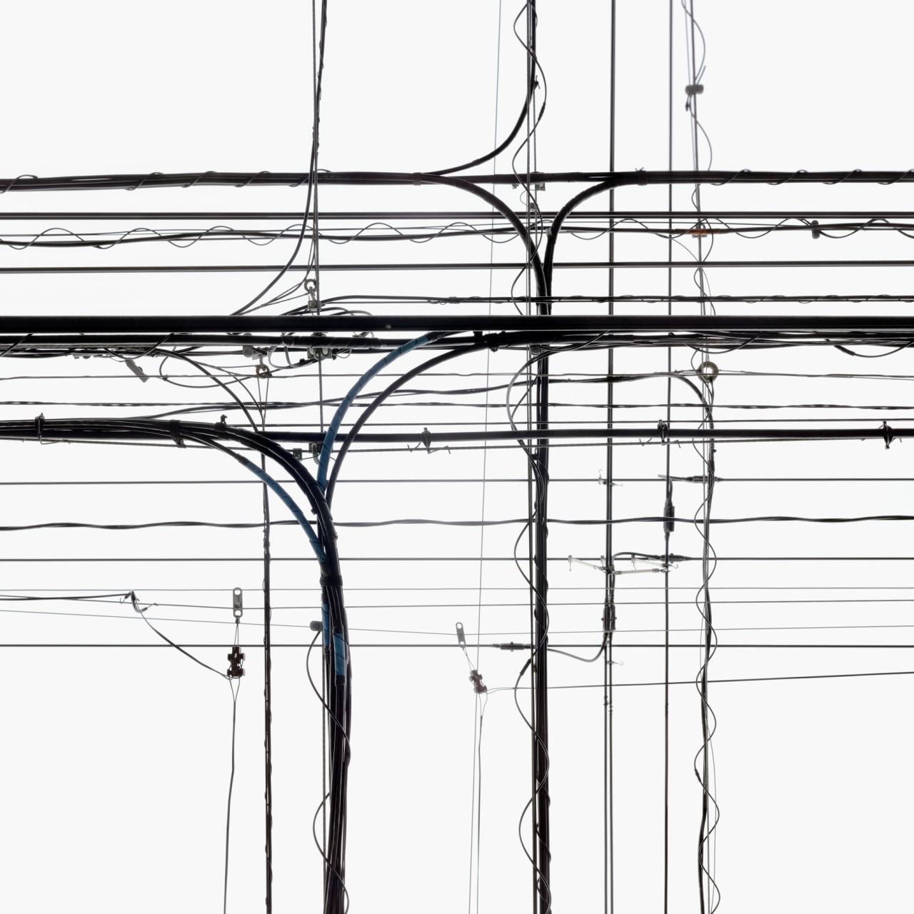 The Japan Series - Poles 17 | 2010 | Pigment inkjet print on fine art paper, framed | 100 x 100 cm