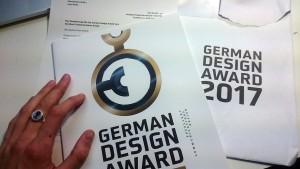 German Design Award 2017 – Nominierung für www.maltekebbel.de Image