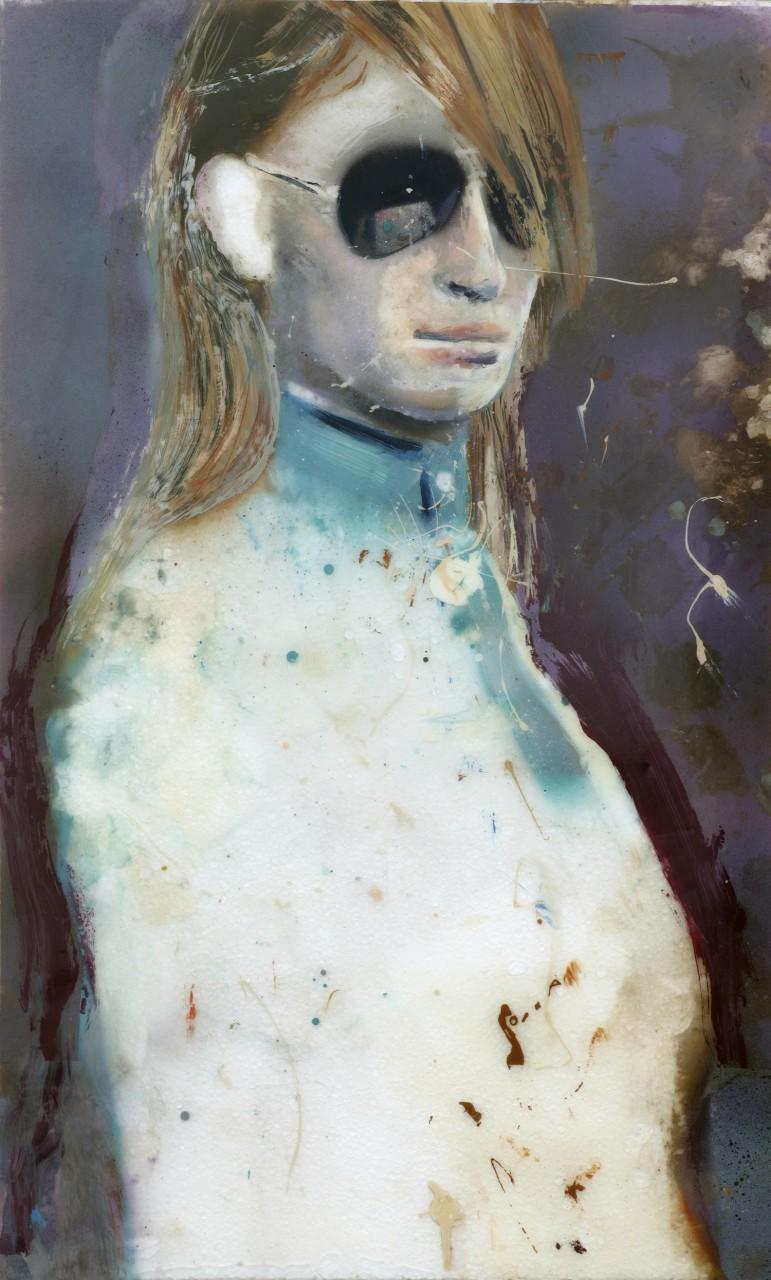 Als Frau noch Frau und Mann noch Mann war | 2004 | varnish on fiberglass | 80 x 50