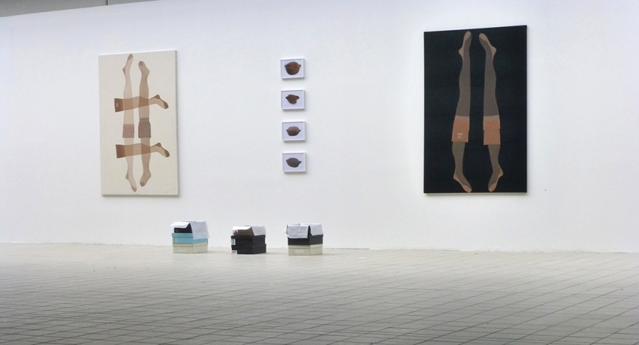 Hildegard Nr. 9 Nr. 10, exhibition view, BBC Berlin-Bozen, 2015
