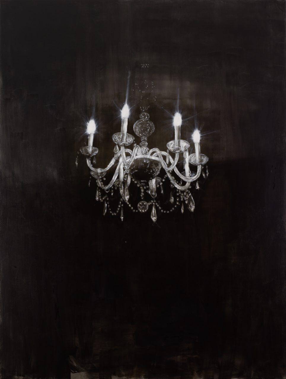 Chandelier 2 | 2013 | Öl auf Leinwand | 240 x 180cm