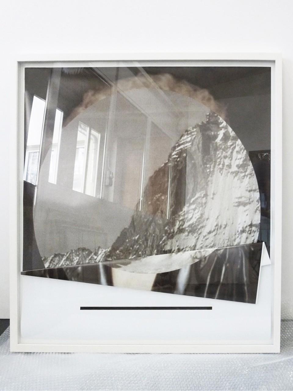 Untitled, 2013, Inkjet Print (gefaltet), 100 x 100 cm