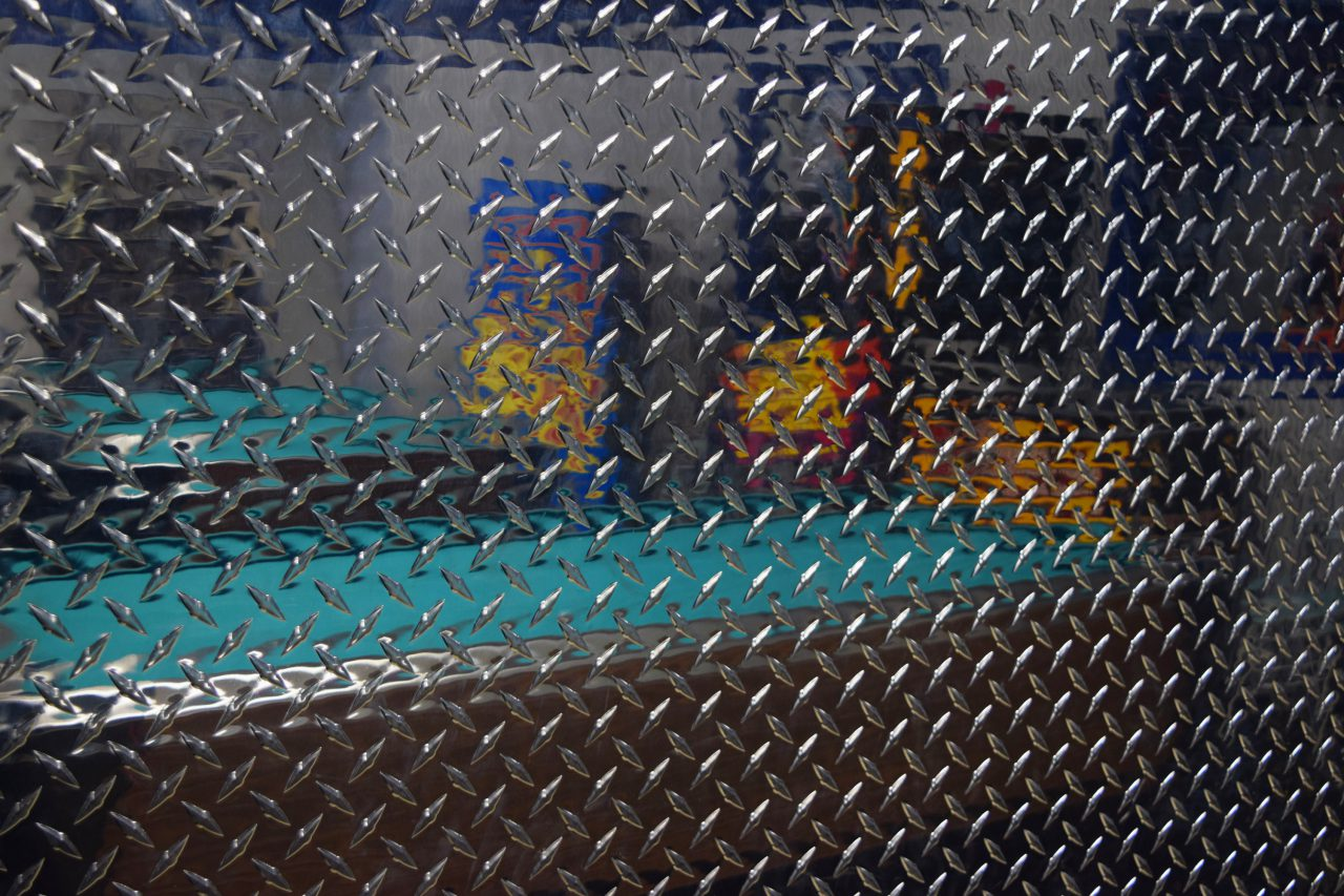 """Diamond Plate Arcade, California"""