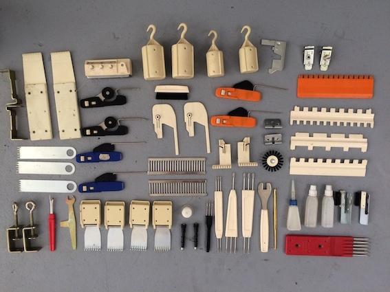 Knitting Machine tools, Pfaff Passap Duomatic Nr. 80