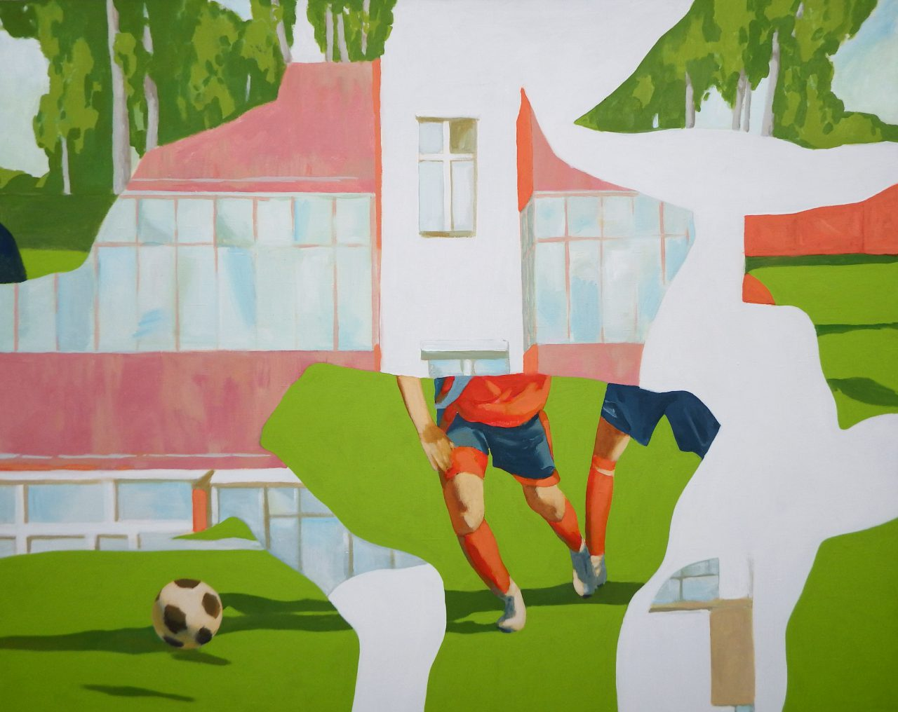 City of childhood / a series of painting / 120x150cm, acrilic on canvas