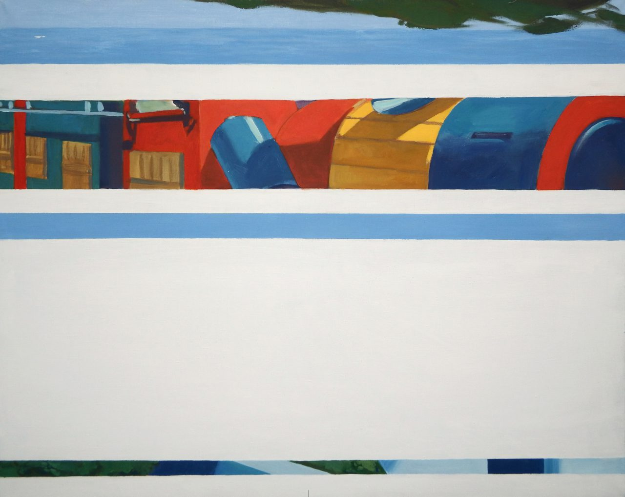 City of childhood / a series of painting / 100x125cm, acrilic on canvas