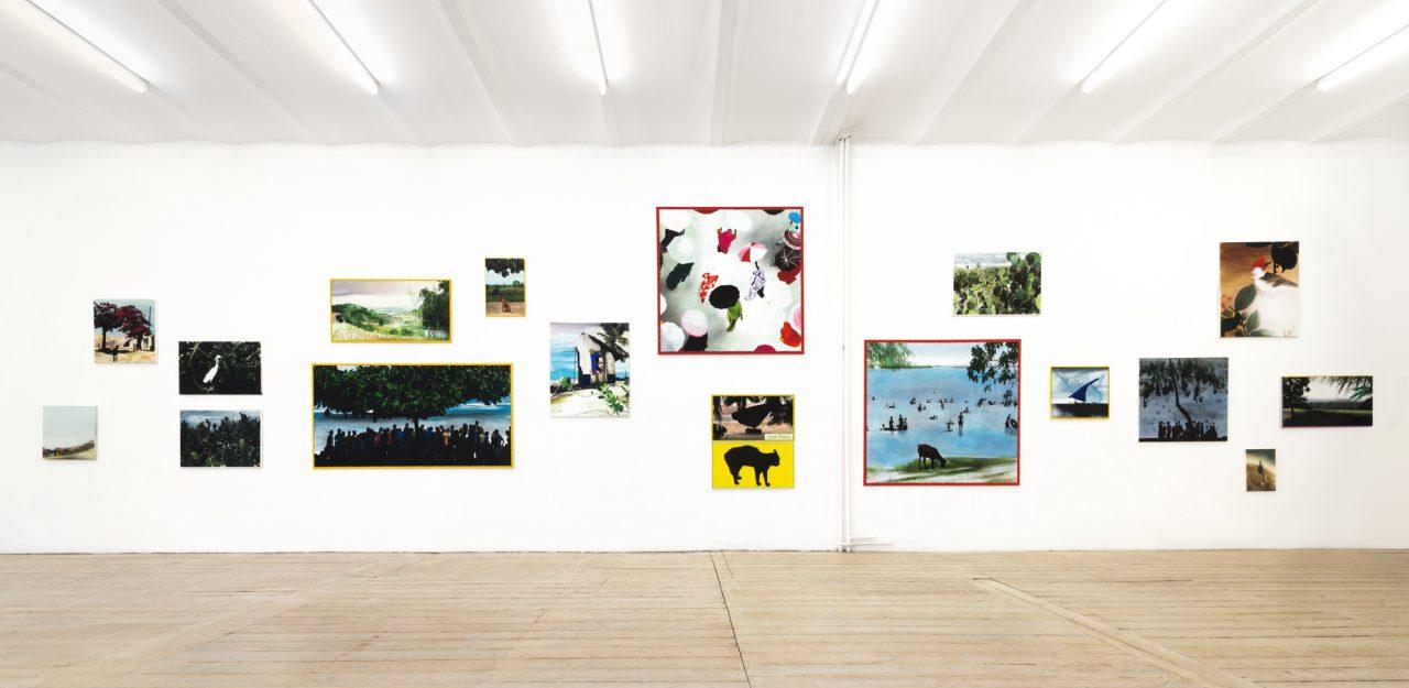 Installation view Jürgen Becker Galerie, Hamburg, 2015
