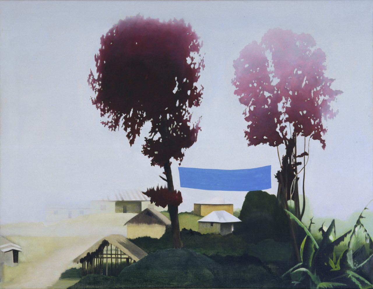 Ukalawa #1, 2006, Oil on canvas, 60 x 80 cm, Private collection
