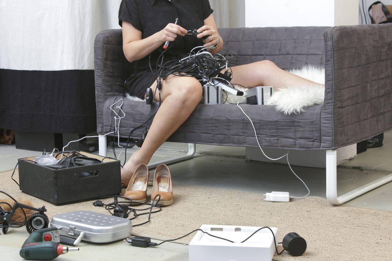 Nina @work: technical stuff (lamps, motion detector...)