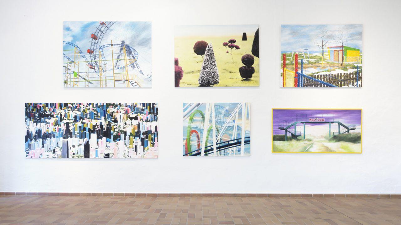 Installation view, Anhaltische Gemäldegalerie Dessau, 2014