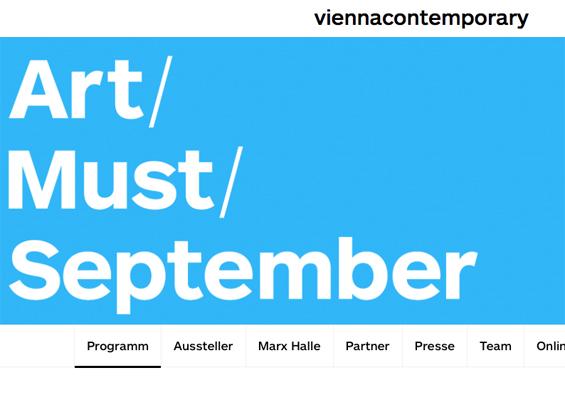 K Strich/Zentrum für aktuelle Kunst zeigt in einer Soloshow Christian Haake auf der vienna contemporary