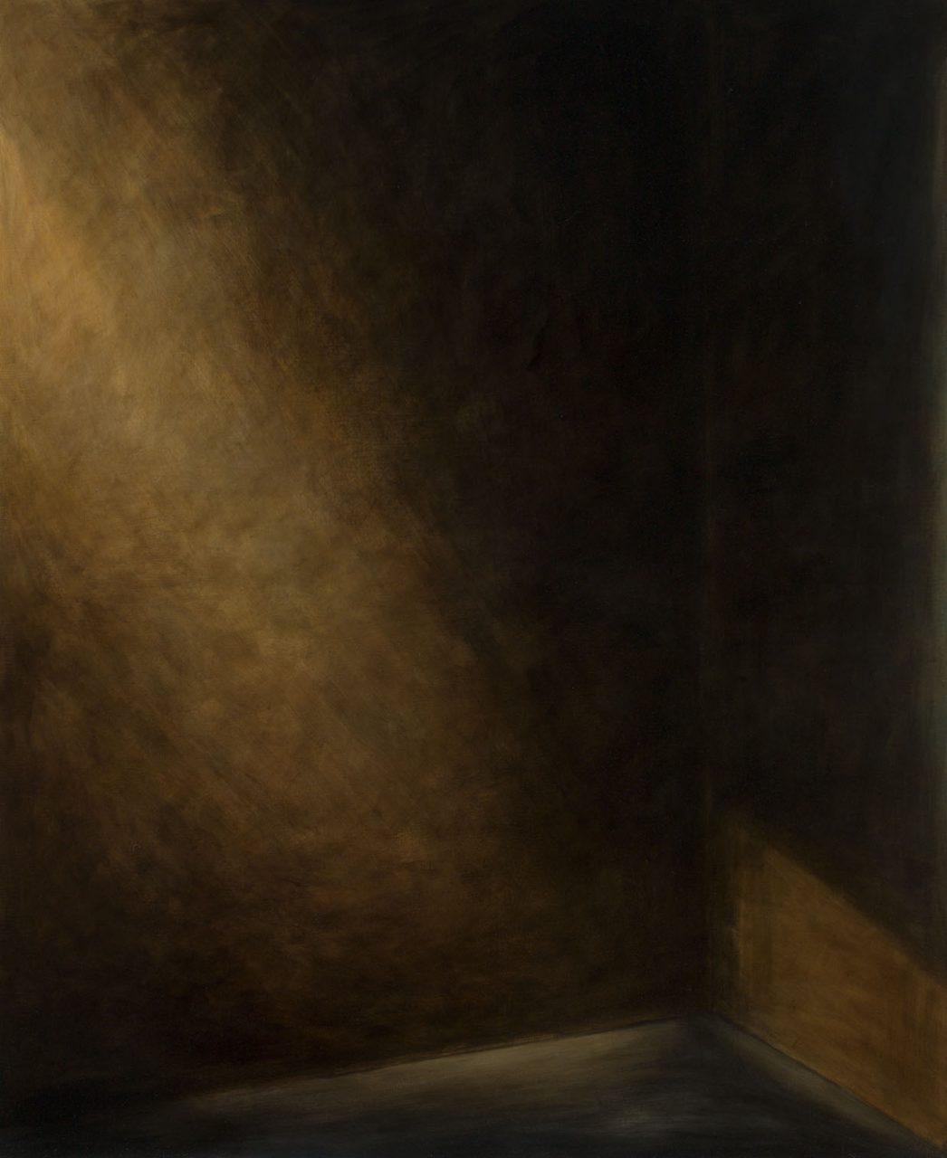 raumecke 4, 2016, öl/leinwand, 160 x 130 cm