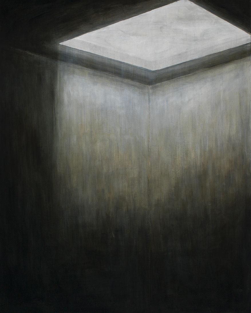 oberlicht, 2016, öl/leinwand, 160 x 130 cm