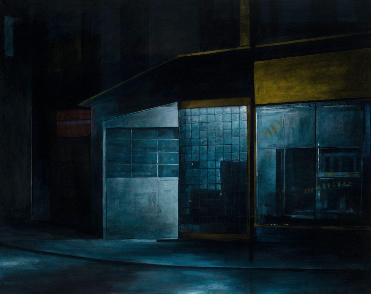 nachttanke, 2016, öl/leinwand, 150 x 190 cm