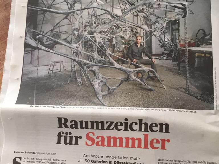 Wolfgang Flad in Handelsblatt