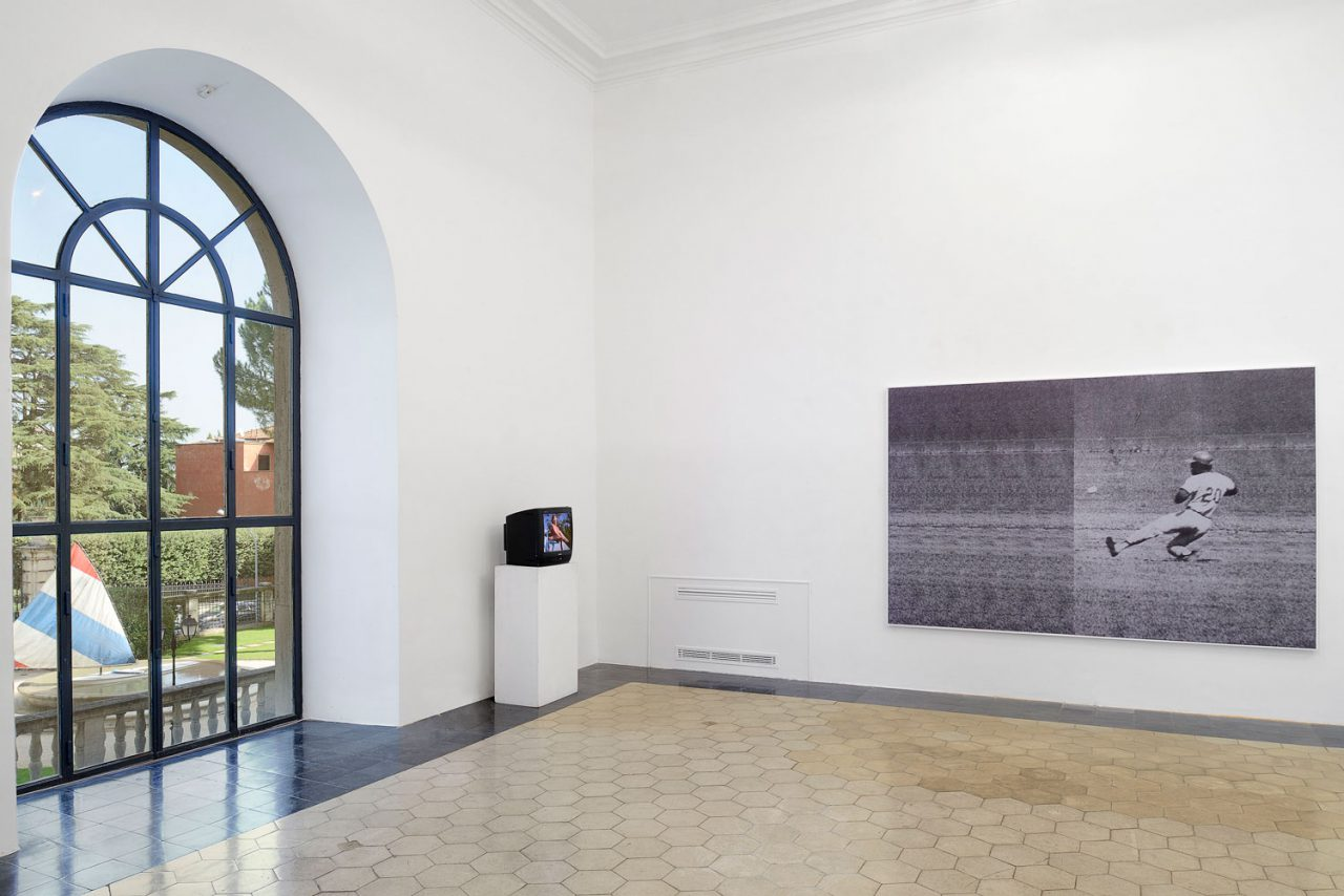 Forest Theater, Installation View, Amercian Academy, Rome, 2014
