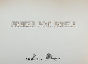 Freeze for Frieze Image