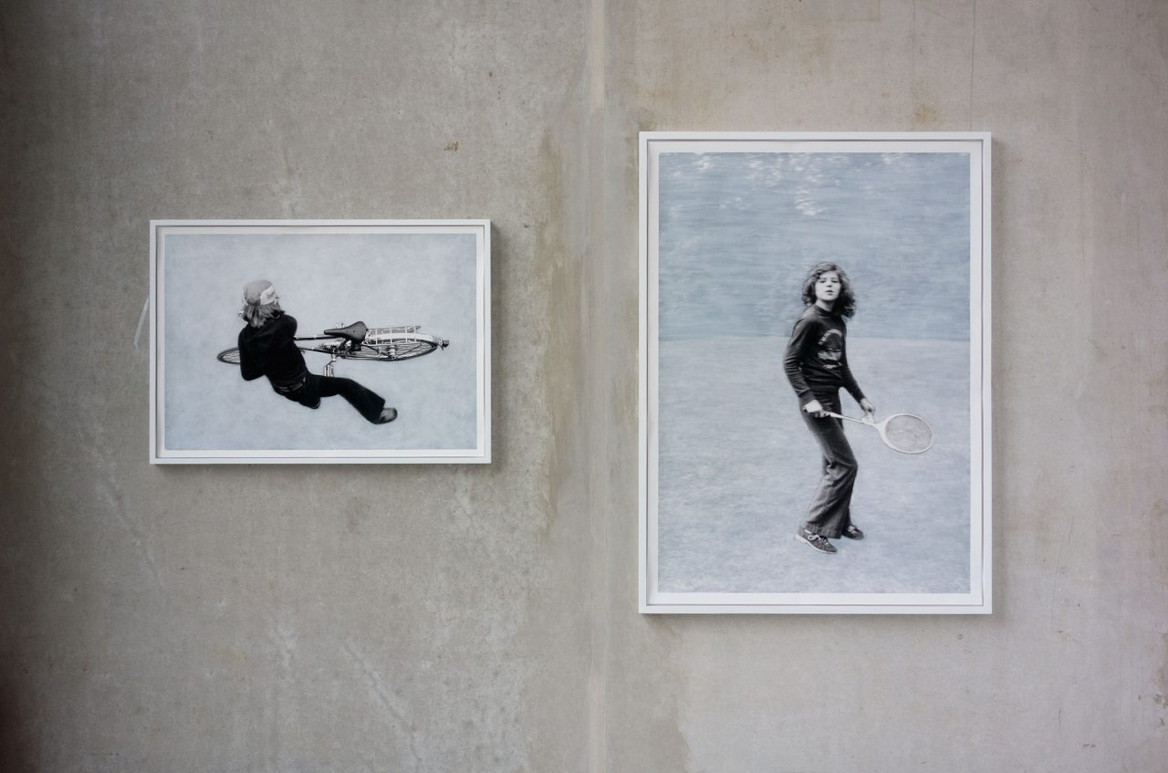 from: Versammlungen/Assemblies | 2015 | overpainted photographs, framed | 62x87 cm & 124x90 cm