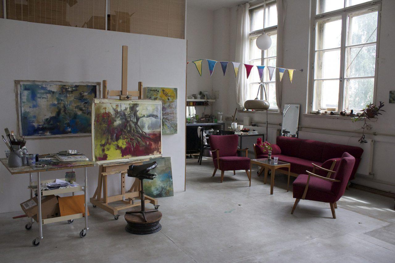 studio view, summer 2016, foto: Michaela Kühn