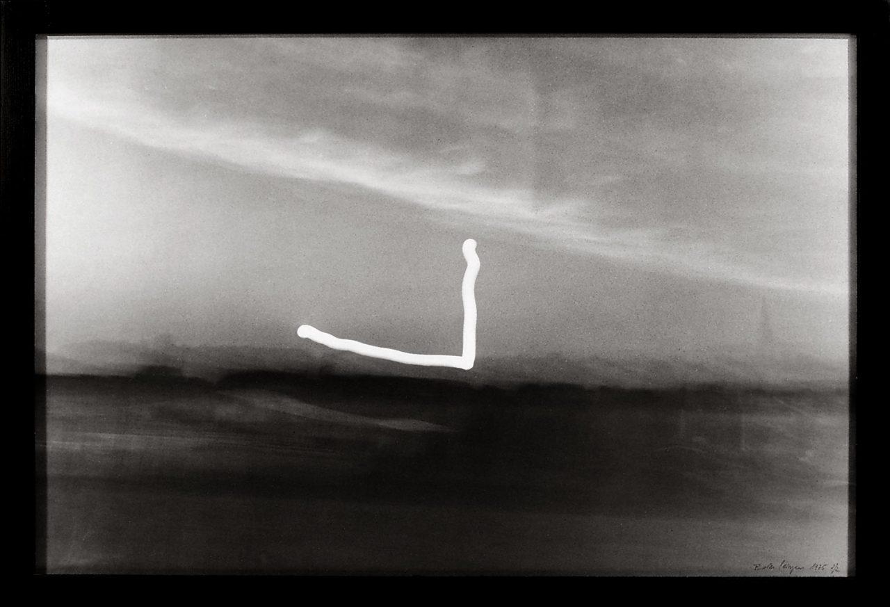 Entwurf eines romantischen Bildes (Mit Sonnenuntergang) | 1975 | Silver gelatin print | 98 x 128,5 cm