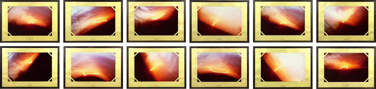 Licht für William Turner | 1978-1982 |12 cibachrome, framed, each 72 x 102 cm