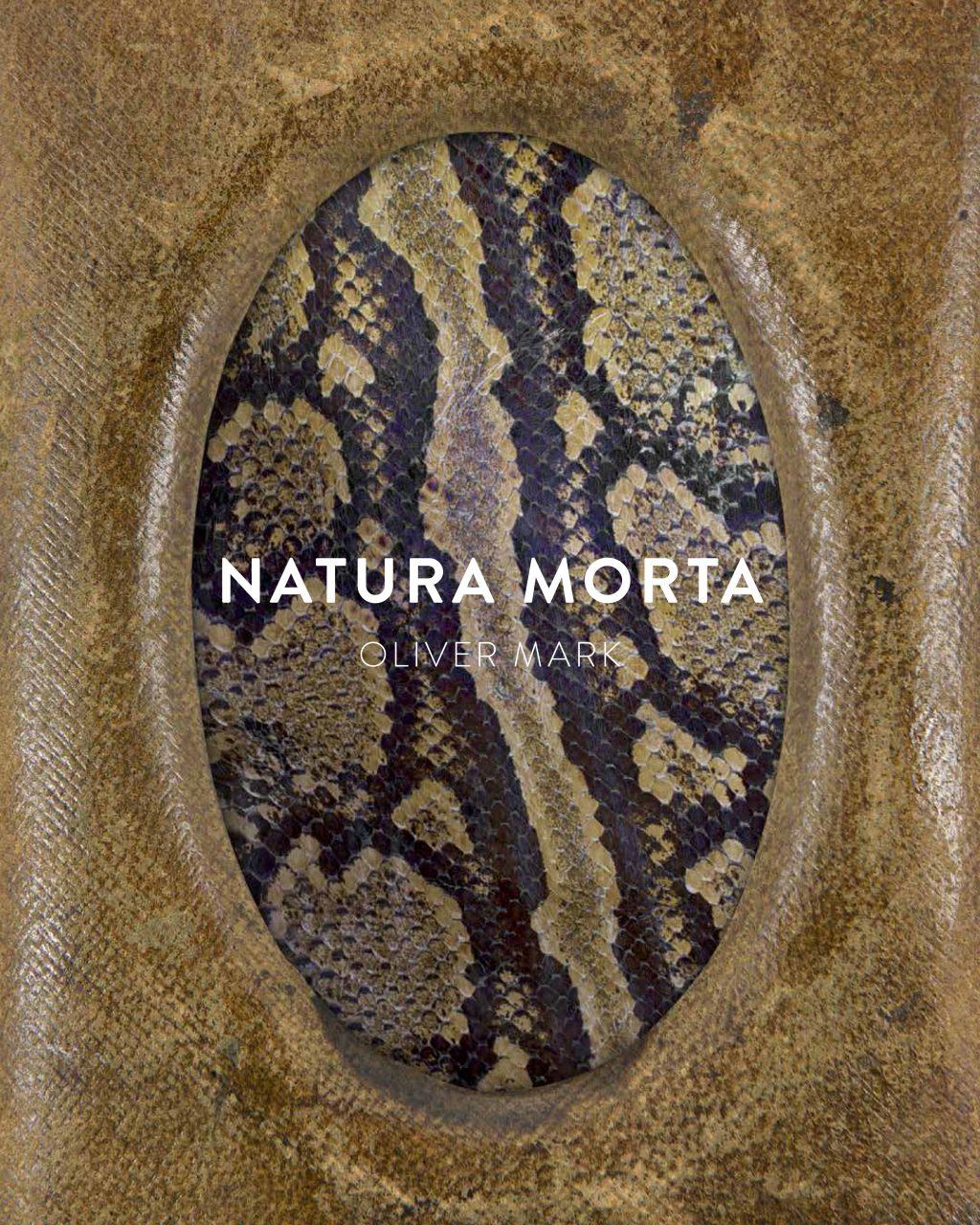new book  Natura Morta Oliver Mark