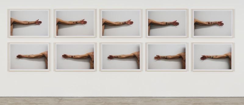 Erez Israeli, Stempelwald, 2015, Installation View, Galerie Crone 2015