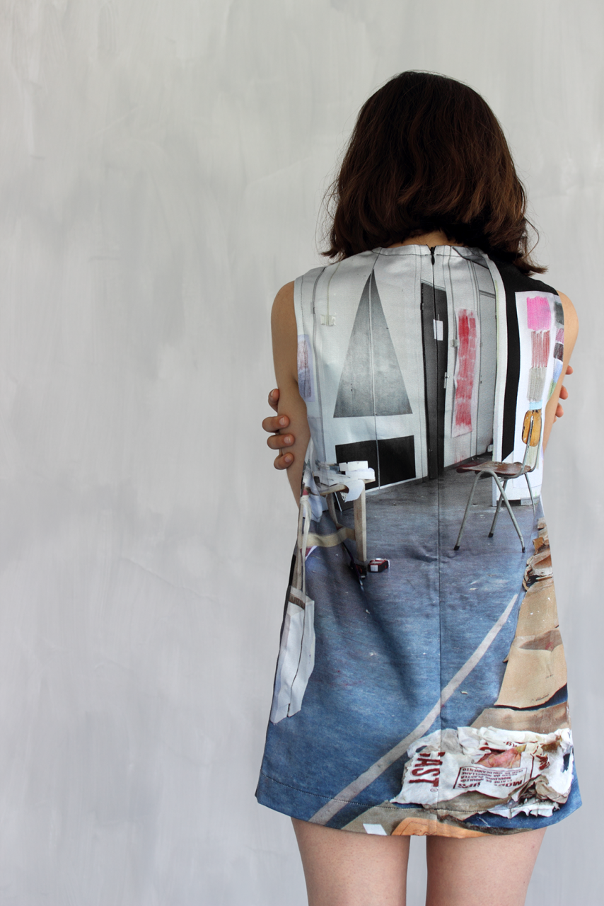 FFWD Fashion 2014 - Liverpool photo printed fabric