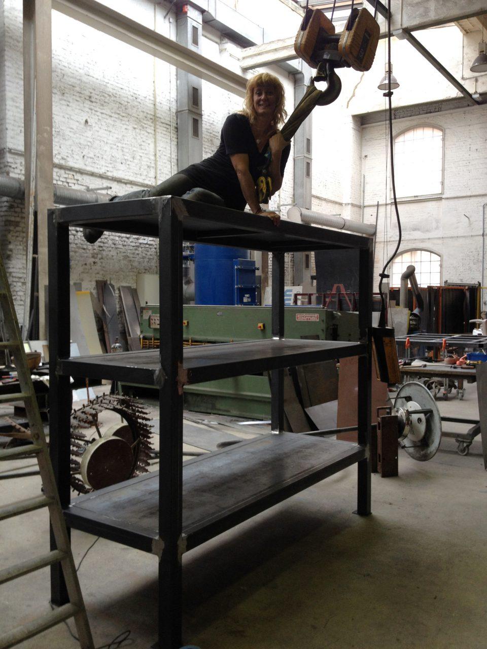 Sandra Meisel, Bildhauerwerkstatt im Kulturwerk, Berlin