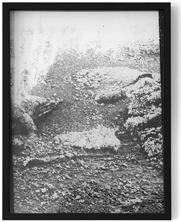 """vulcano sand collages II"", 2016, Fotogramm, 40 cm x 30 cm"