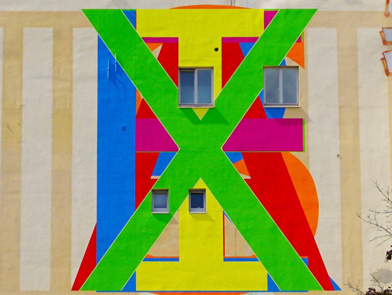 Erez Israeli, Felix Israel, 2014, Firewall Mural at the Künstlerhaus Bethanien, Berlin