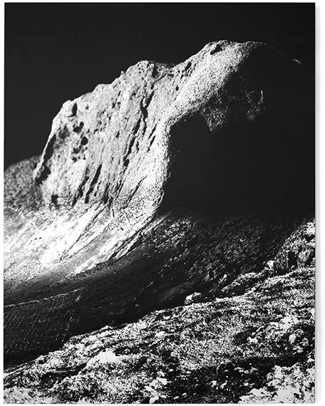 """""""Man kann sich die Welt ansehen I"""", 2016, Fine Art Print auf Hahnemühle Baryta, 140, 5 cm x 110 cm"""