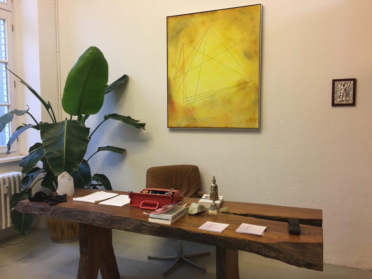 Slater Bradley Studio Office   Photo: Artitious