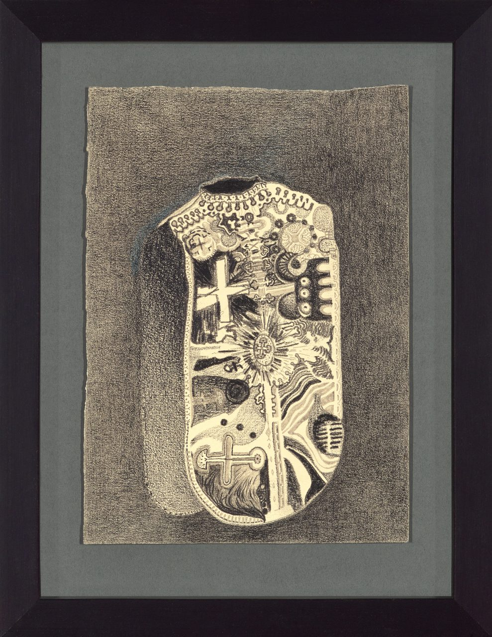 Chasuble #003: 2012 | 21 x 14,5 cm. Pencil on paper