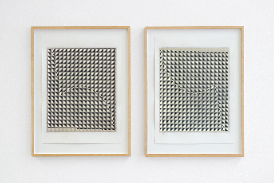 Untitled (nº 34), 2016. Mixed media on cotton paper, 15 3/4 x 11 5/8 in (40 x 29.5 cm) each, without frame