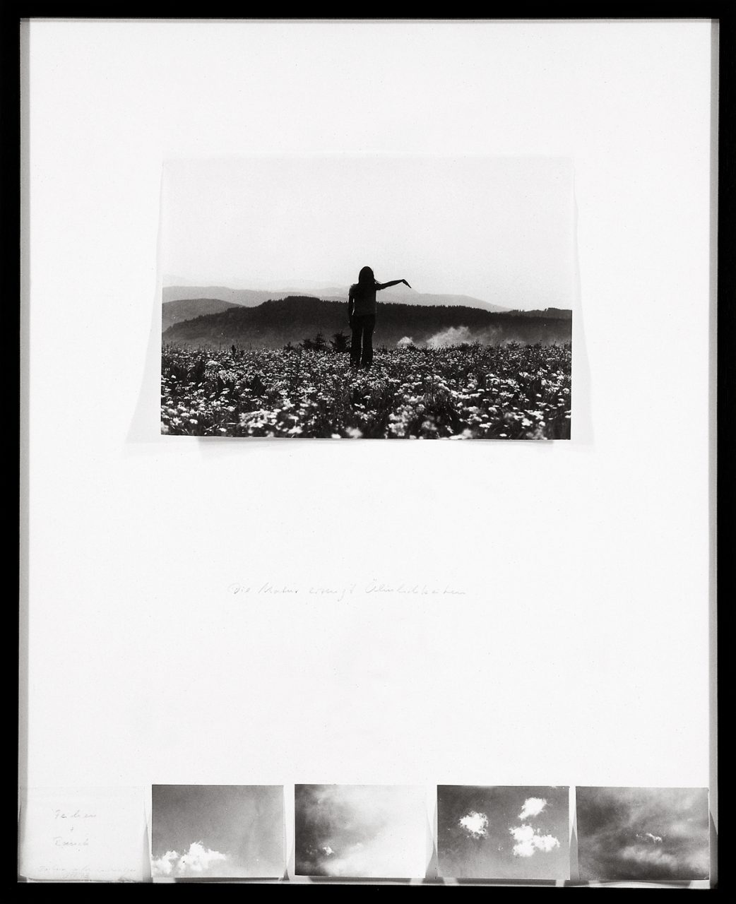 Mimesis | 1972-1973 | Silver gelatin prints mounted on paper | 90,5 x 73,5 cm