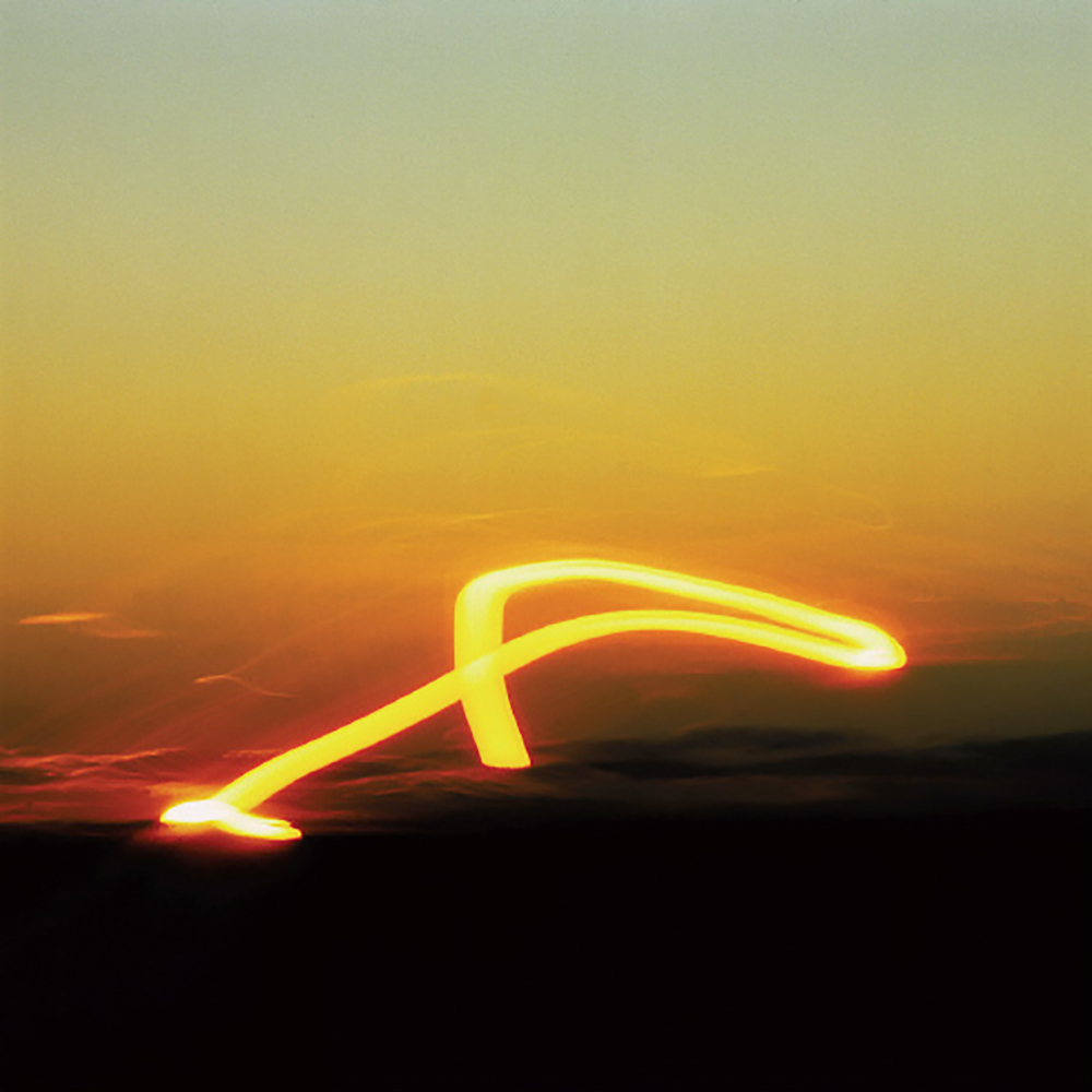 Sonnensprung | 1980 | Cibachrome, mounted on dibond, Diapex | 100 x 100 cm