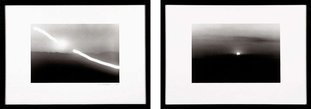 Sonnenteilung | 1977 | Two silver gelatin prints each 73 x 100 cm