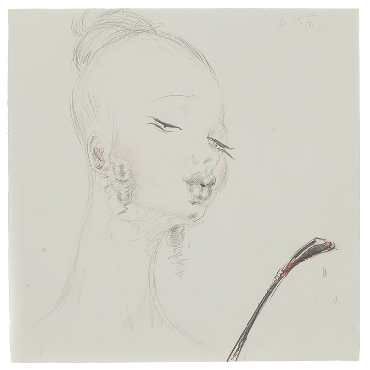 Puste Puste | 25 x 25 | Pencil, colour pencil on paper