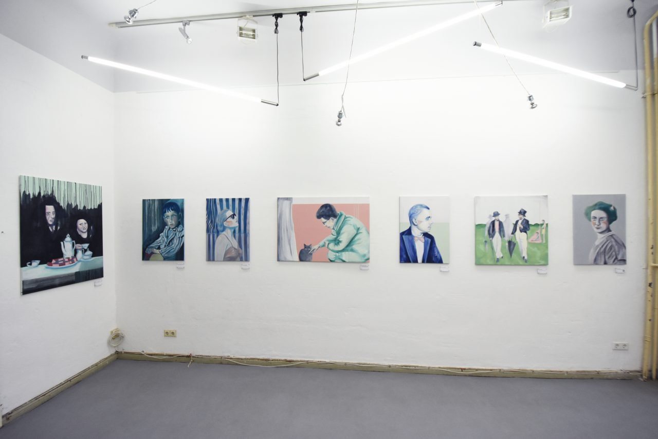 Reminiscence - Solo exhibition at Gallery VonLbisG, Berlin, 2016