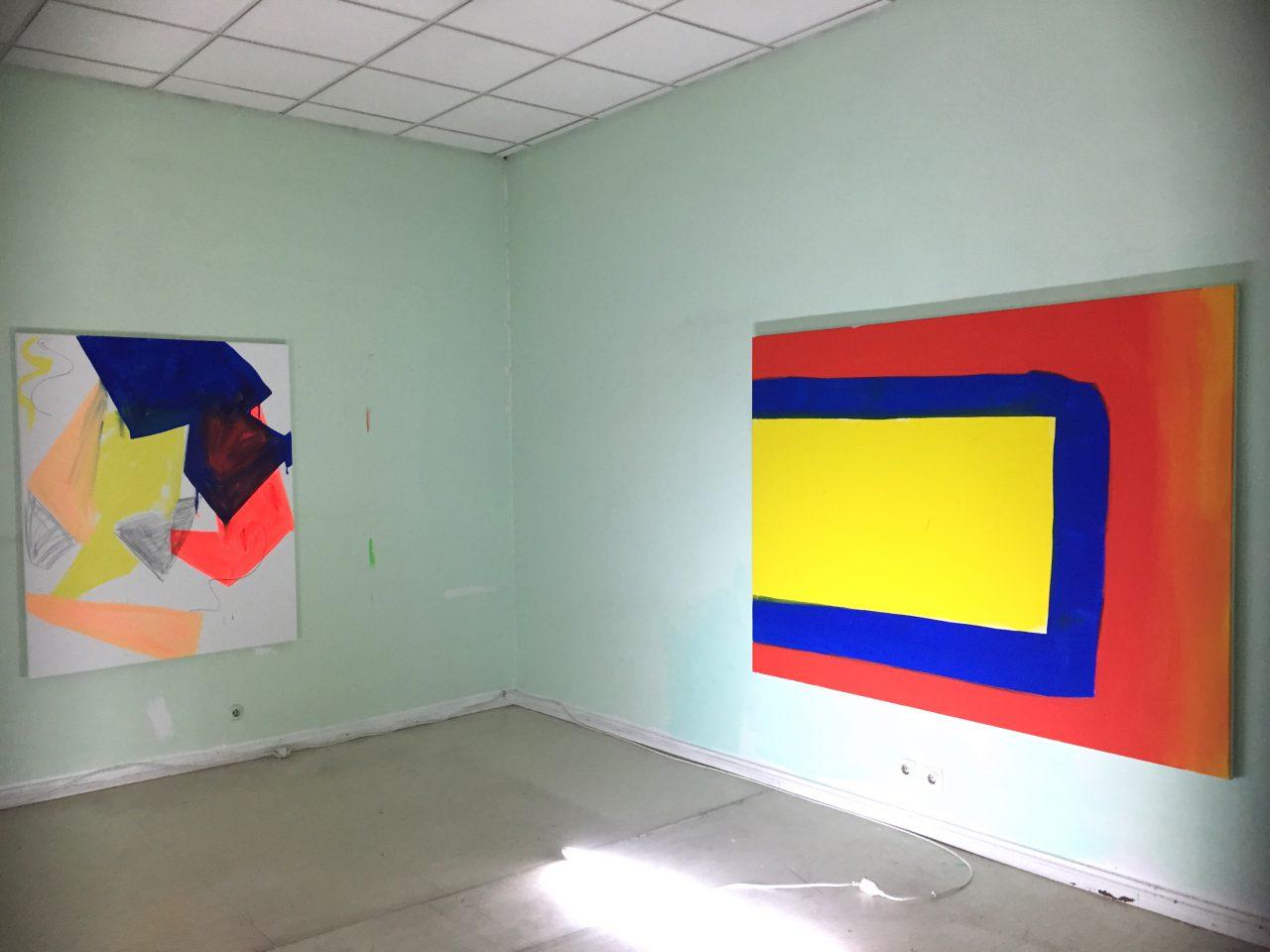 Studio view, 1