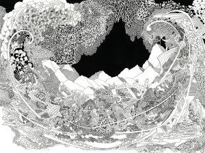 4. Biennale der Zeichnung in der Metropolregion Nürnberg,  Angelika Arendt –  Die neue Utopie Image