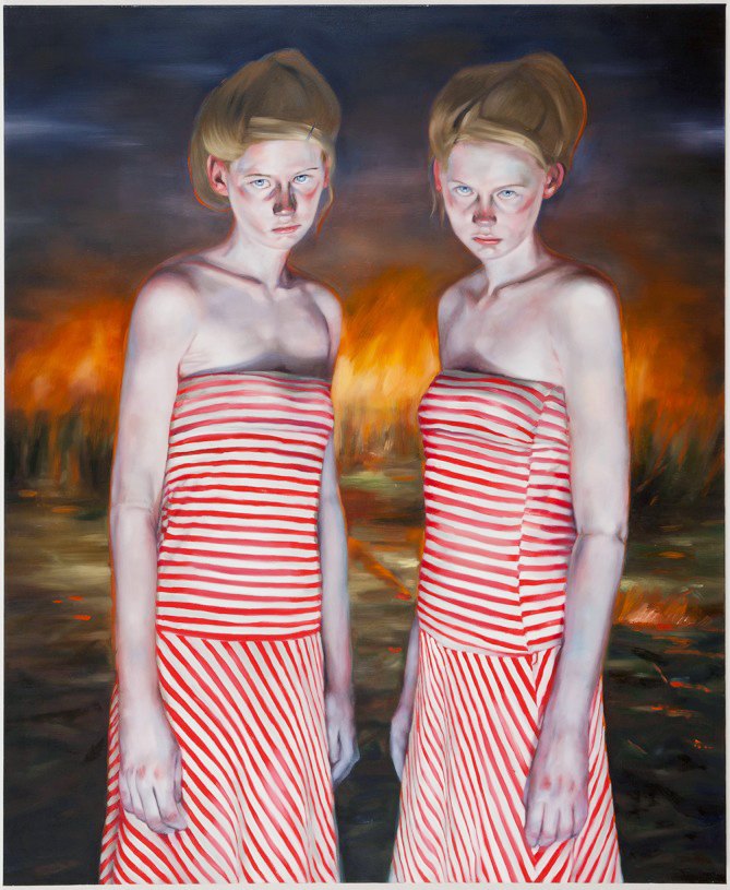Heavenly Creatures, 2011 oil on canvas, 170 x 140 cm