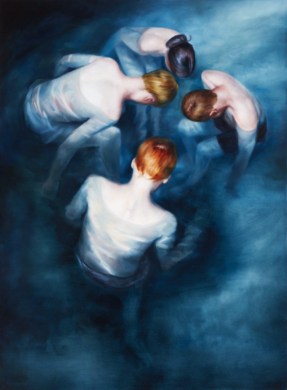 Drifters, 2014 oil on canvas, 190 x 140 cm